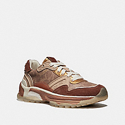 COACH G3015 C143 Runner TAN/SADDLE