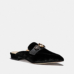 COACH G3099 Nova Loafer Slide BLACK