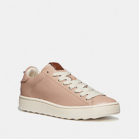 COACH G3107 C101 LOW TOP SNEAKER PALE BLUSH/PALE BLUSH