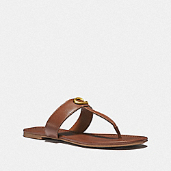 COACH G3337 Jessie Sandal SADDLE