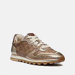 COACH G3342 - C118 RUNNER TAN/CHAMPAGNE