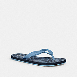 COACH G3434 - ZAK FLIP FLOP DENIM