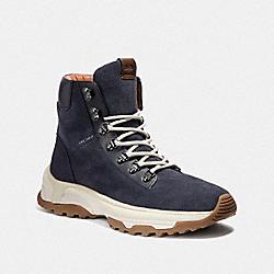 COACH G3526 Coach City Hiker Boot MIDNIGHT NAVY