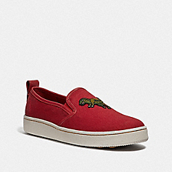 COACH G3766 C115 Slip On REXY RED