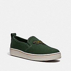 C115 SLIP ON - REXY GREEN - COACH G3766