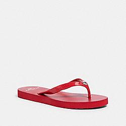 COACH G3775 - FLIP FLOP RED