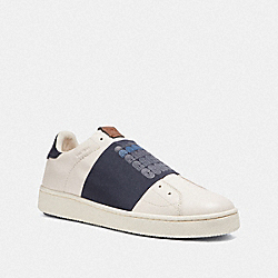 COACH G3876 - C101 BANDED STRAP SNEAKER NAVY