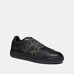 COACH G3877 - C101 BANDED STRAP SNEAKER WITH WILD BEAST PRINT WILD BEAST
