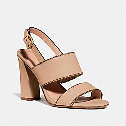 COACH G3916 Rylie Sandal BEECHWOOD