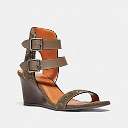 COACH G3984 - ODESSA WEDGE FATIGUE