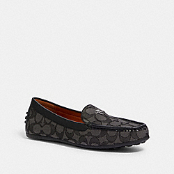 COACH G4175 Gable Loafer BLACK/SMOKE