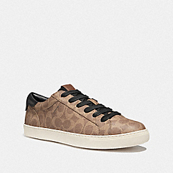C126 LOW TOP SNEAKER - KHAKI SIGNATURE - COACH G4201