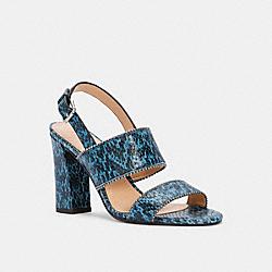COACH G4215 Rylie Heel Sandal MINERAL