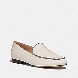 COACH G4279 Harper Loafer CHALK