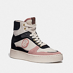COACH G4337 - C220 HIGH TOP SNEAKER PALE BLUSH/CHALK