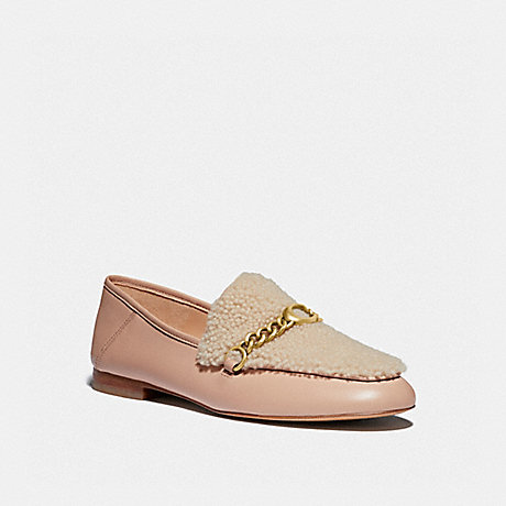 COACH G4634 HELENA LOAFER PALE BLUSH/NATURAL