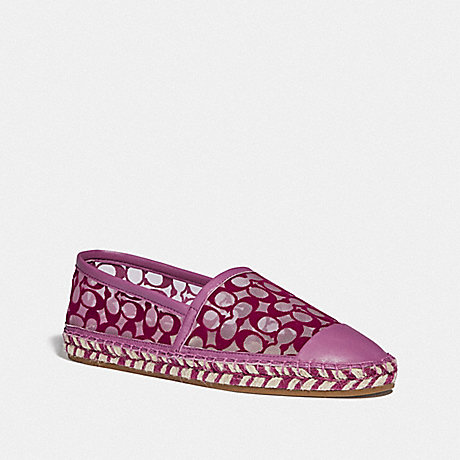 COACH G4819 CLEO ESPADRILLE LILAC-BERRY