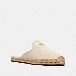 COACH G4840 - CALEY ESPADRILLE CHALK