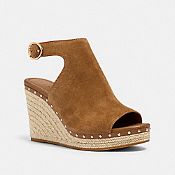 COACH G4844 - KRISTY WEDGE PEANUT