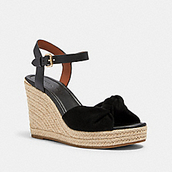 KATEY WEDGE - G4845 - BLACK