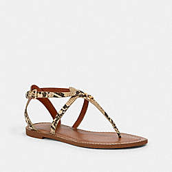 COACH G4853 - LYDIA SANDAL NATURAL