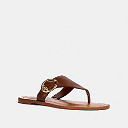 LESLI SANDAL - G4855 - SADDLE