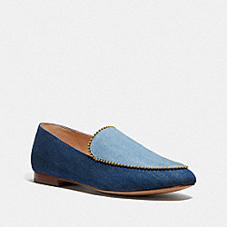 COACH G4861 Harper Loafer DENIM