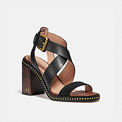COACH G4867 Mandy Sandal BLACK