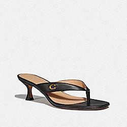COACH G4883 Audree Sandal BLACK