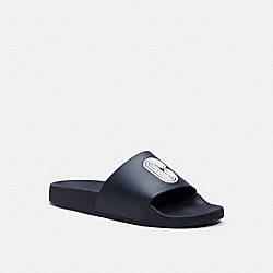 SLIDE WITH COACH PATCH - G4920 - BLACK