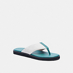 COACH G4921 - FLIP FLOP IN SIGNATURE CANVAS OCEAN