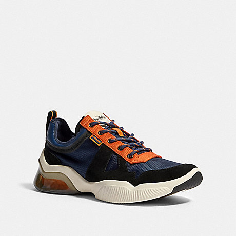 COACH G4939 CITYSOLE RUNNER IN COLORBLOCK ADMIRAL-CLEMENTINE