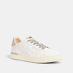 COACH G4949 - CLIP LOW TOP SNEAKER CHALK