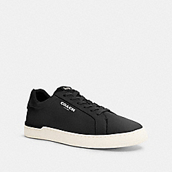COACH G4950 Clip Low Top Sneaker BLACK
