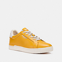 COACH G4950 - CLIP LOW TOP SNEAKER OCHRE