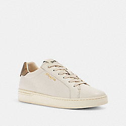 CLIP LOW TOP SNEAKER - G4966 - CHALK/KHAKI