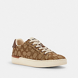 CLIP LOW TOP SNEAKER - G4967 - KHAKI/SADDLE
