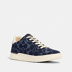 CLIP LOW TOP SNEAKER - G4968 - DENIM
