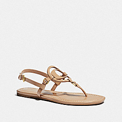 COACH G4976 Jeri Sandal BEECHWOOD
