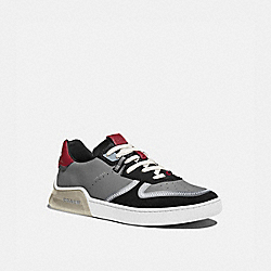 CITYSOLE COURT SNEAKER IN COLORBLOCK - WASHED STEEL BLACK - COACH G5014