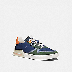 CITYSOLE COURT SNEAKER IN COLORBLOCK - TRUE NAVY/ WASHED UTILITY - COACH G5014