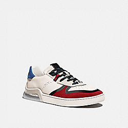 COACH G5014 - CITYSOLE COURT SNEAKER IN COLORBLOCK CHALK DARK CARDINAL