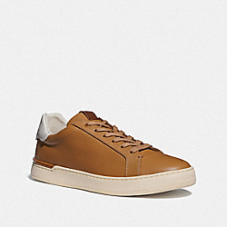 COACH G5019 - LOWLINE LOW TOP SNEAKER LIGHT TOFFEE