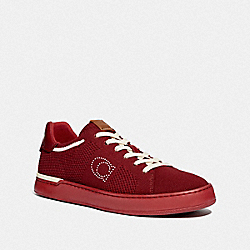 COACH G5023 Lowline Low Top Sneaker DARK CARDINAL