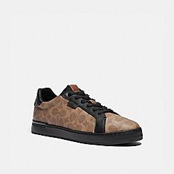 COACH G5025 Lowline Low Top Sneaker KHAKI/BLACK