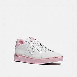 COACH G5040 Lowline Low Top Sneaker WHITE/AURORA