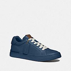 COACH G5041 Lowline Luxe Low Top Sneaker ALMOST NAVY