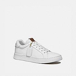 COACH G5041 Lowline Luxe Low Top Sneaker WHITE.