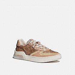 COACH G5043 Citysole Court Sneaker TAN/BEECHWOOD