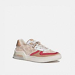 COACH G5043 Citysole Court Sneaker SAND/BEECHWOOD